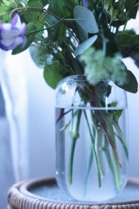 Louna glass vase
