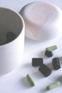 Karkkipäivä ceramic jar