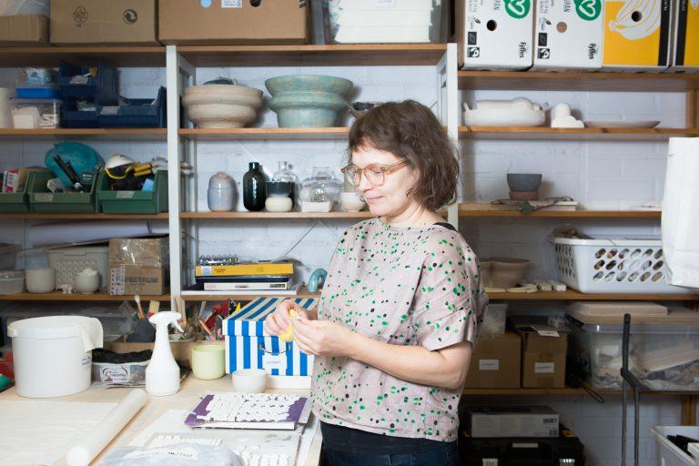 Leena Hyttinen studio portrait